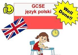 Online GCSE język polski / Polish and English! Polski/ Angielski Online!