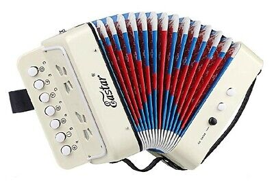 Eastar Kids Accordion Toy Accordian Mini Musical Beginners Instruments