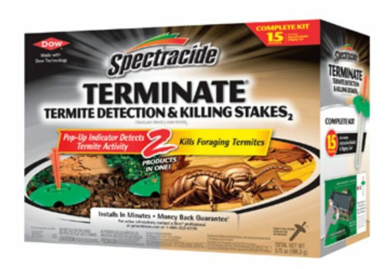 Spectracide HG-96115 Termite Detection & Killing Stakes, 15 Count