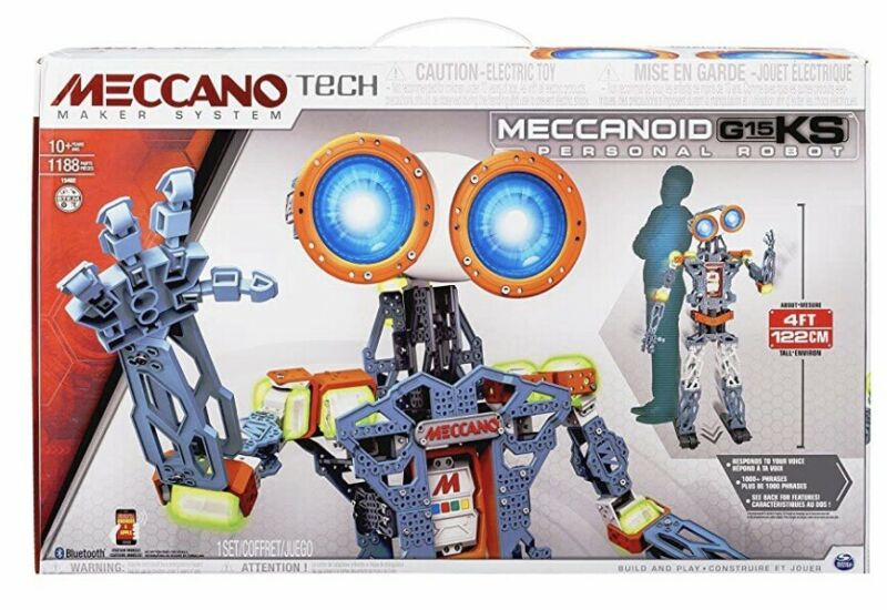 Meccano Tech Meccanoid Personal Robot G15 K 4 Foot Tall Version New Sealed
