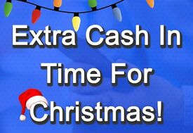 Earn Cash From Home In Time For Christmas! Anywhere In The UK.