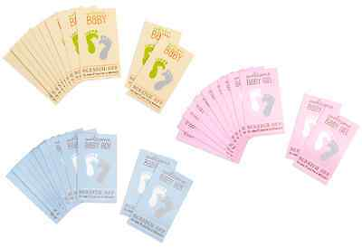 BABY SHOWER GAMES Scratch Off Cards Tickets for Prizes CHOOSE PINK BLUE YELLOW