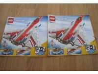 Lego Creator 3 in 1 Jet Plane with Sweep Wings system + Instructions Superb Condition