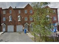 3 bed town house with garage close to city centre low deposit £132.69 Parklands development Working
