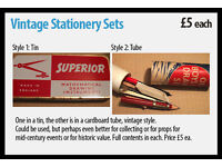 Vintage Stationery Sets