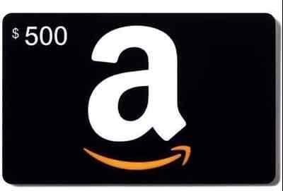 Amazon $500 gift card