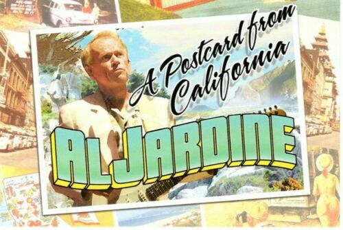 AL JARDINE Autographed Signed Postcard Post Card - To John THE BEACH BOYS