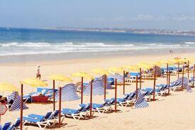 Holiday Apt Sleeps 4 Sunny Algarve nr Albufeira with Air Con