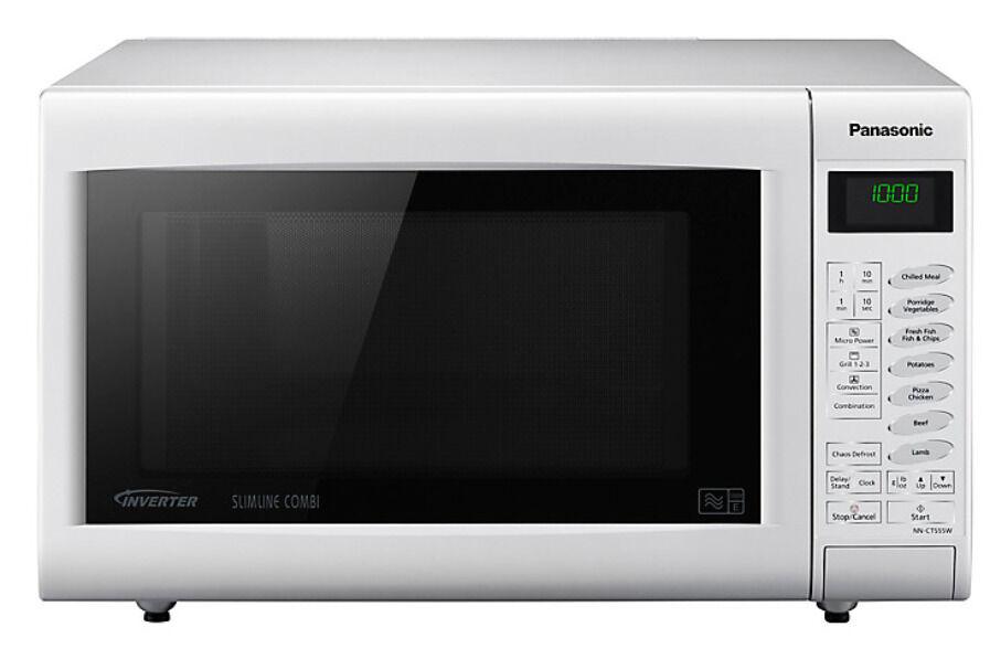 Est Deal Panasonic Microwave Oven Slimline Combi Nn Ct552w 27l White