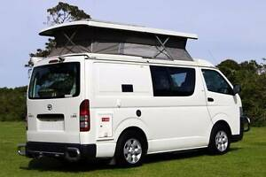 Toyota Hiace Auto Campervan with Solar, Hot water, Shower + more! Albion Park Rail Shellharbour Area Preview