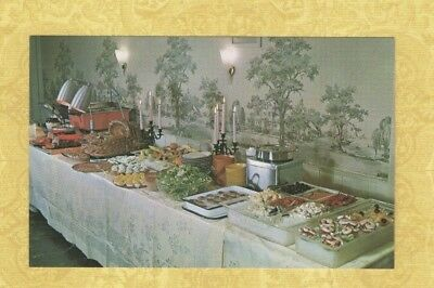 (CT Guilford 1950-60s postcard CHELLO OYSTER HOUSE CONN seafood steak chicken )