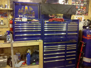 Sharp looking tool boxes and misc items