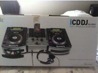 Numark cdj set with mixer