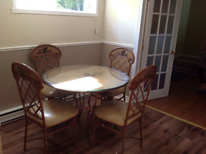 French Country Style Dining Room Set
