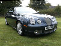 Jaguar S-TYPE 2.7D V6 XS Auto. With Factory Fitted Bodykit, Sat Nav And FSH