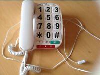 Opticom Big Button Corded Desk Telephone - Single £5