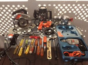 Outils / tools Black Decker / Blue point / Snap on