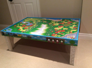 Thomas the Train Table and Island of Sodor Table Top