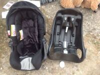 Graco baby car seat fits 13kg used £15