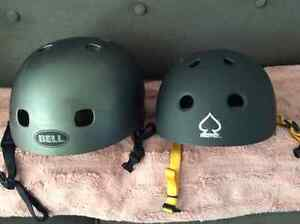Mens and youth snowboard helmets
