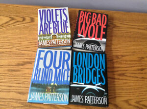 JAMES PATTERSON ANY 5 BOOKS $10