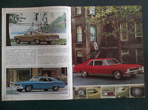 1968 Chevy II Nova dealer showroom catalog