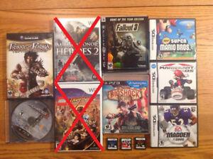 PS3 / DS / Wii / Gamecube