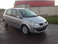 24/7 Trade sales NI Trade prices for the public 2007 Renault Scenic 1.6 VVT Dynamique Silver
