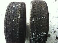 2-Bridgestone Blizzak 265/70R17