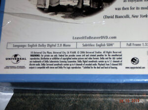33 HOURS OF...LEAVE IT TO BEAVER DVDS Kitchener / Waterloo Kitchener Area image 5