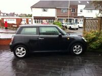 Black Mini Cooper for sale