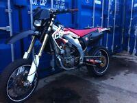Honda crf 450r supermoto full light kit v5 12month mot Cr rmz kxf yz ktm