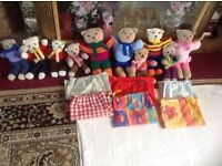 Toys bundles hand made for sale 10 items £4