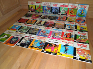 35 albums bd de la collection Dargaud 16/22 en lot ou à l'unité