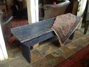 Antique country bench