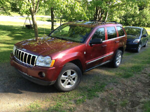 2007 Jeep Grand Cherokee limited VUS diesel cdr moteur mercedes