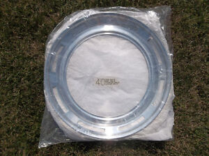 1949 to 1956 Ford & Mercury & Chevrolet 15 inch NOS trim rings London Ontario image 3