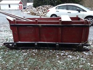 REDUCED Box Sleigh For Sale