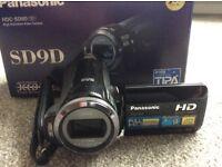 Panasonic HDC-SD9 Video Camera