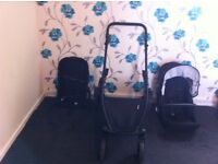 BRITAX B DUAL double pushchair - only been used 11 months for sale