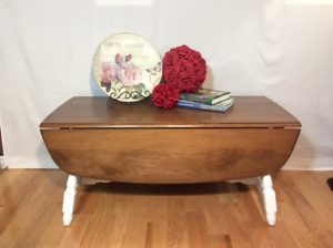 Country charm coffee table
