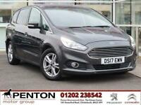 2017 Ford S-MAX 2.0 TDCi Titanium Powershift (s/s) 5dr MPV Diesel Automatic