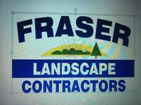 Experienced landscapers