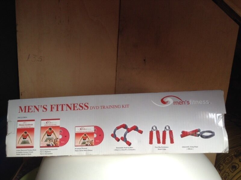 Keep fitin Yatton, BristolGumtree - Mens fitness dvd with accesories never used would make a great gift for that man in your life