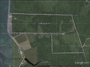 for sale,partialy wooded land ,camping,moose hunting leasure...)