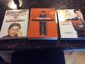 Arrested development DVD. Seasons