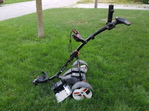 MotoCaddy S1 Pro Electric Golf Trolley + 36-hole Lithium Battery