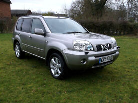 Nissan X-Trail 2.5i Auto Aventura Only 64,000 Miles With FSH
