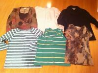 Ladies med to large tops euc