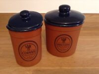 Retro Kitchen set or really nice pots for plant.